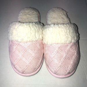 Victorias Secrets cozy knit slippers